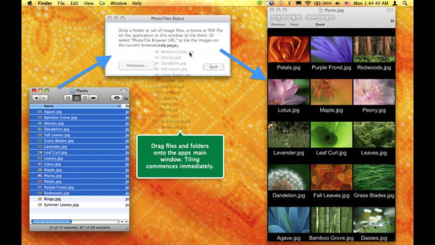 PhotoTiles for Mac - review, screenshots