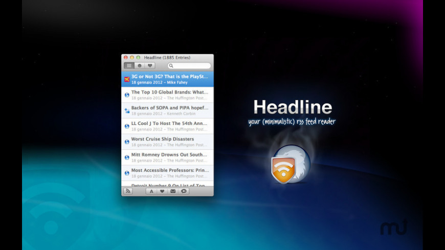 Headline for Mac - review, screenshots
