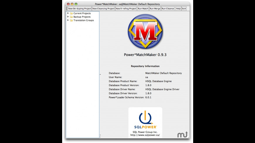 SQL Power DQguru for Mac - review, screenshots