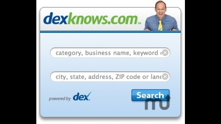 US Yellow Page Search- DexKnows.com for Mac - review, screenshots
