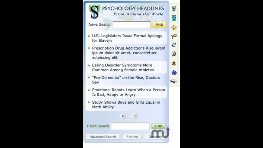 PsychWidget for Mac - review, screenshots