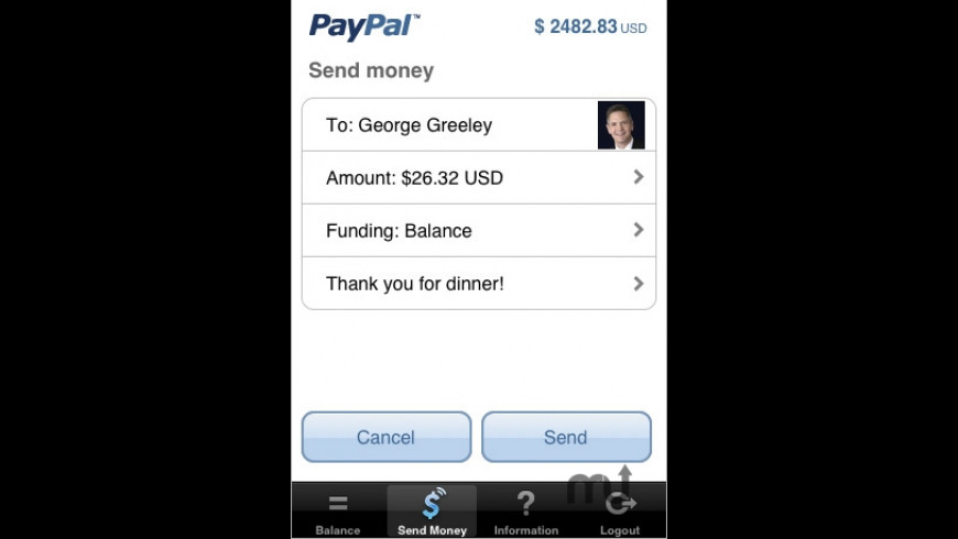 PayPal for Mac - review, screenshots