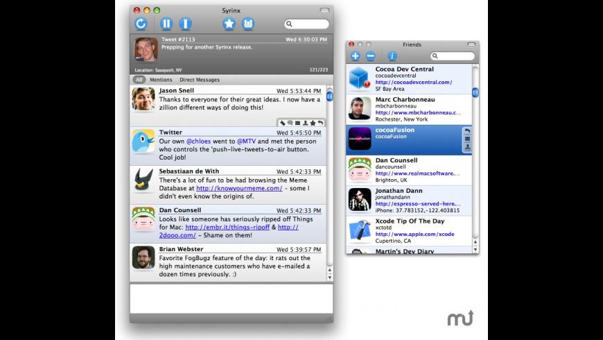 Syrinx for Mac - review, screenshots