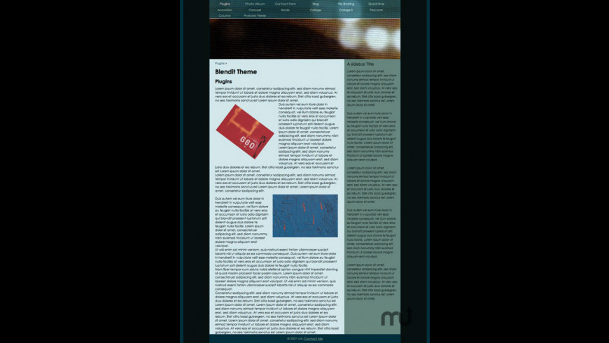 Blendit Theme for Mac - review, screenshots