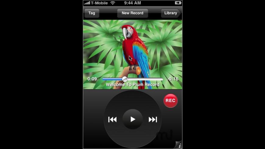 Plum Record for Mac - review, screenshots
