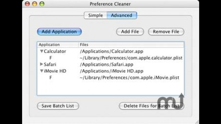 PreferenceCleaner for Mac - review, screenshots