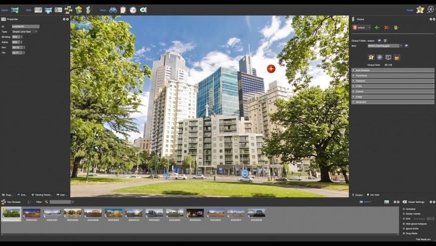 Pano2VR for Mac - review, screenshots