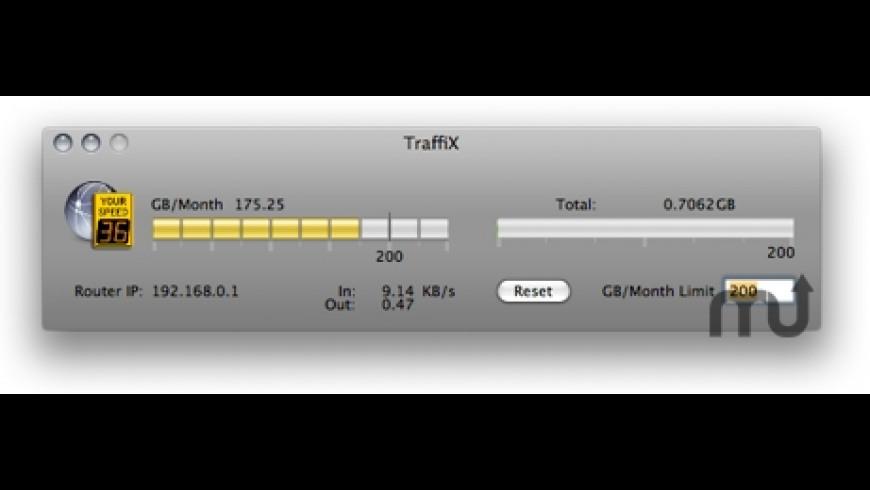 TraffiX for Mac - review, screenshots