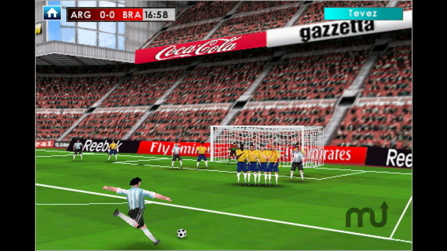 Real Soccer 2009 for Mac - review, screenshots