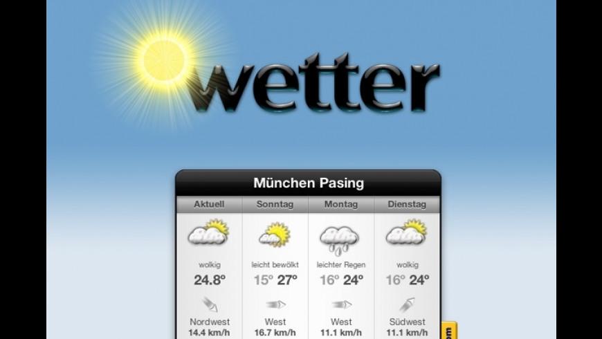 Wetter for Mac - review, screenshots
