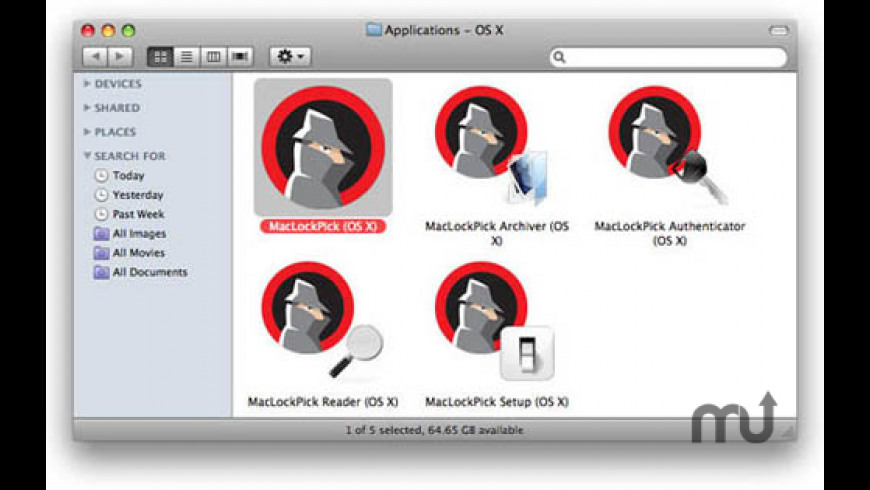 MacLockPick for Mac - review, screenshots
