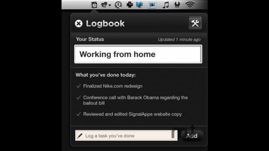 Logbook for Mac - review, screenshots