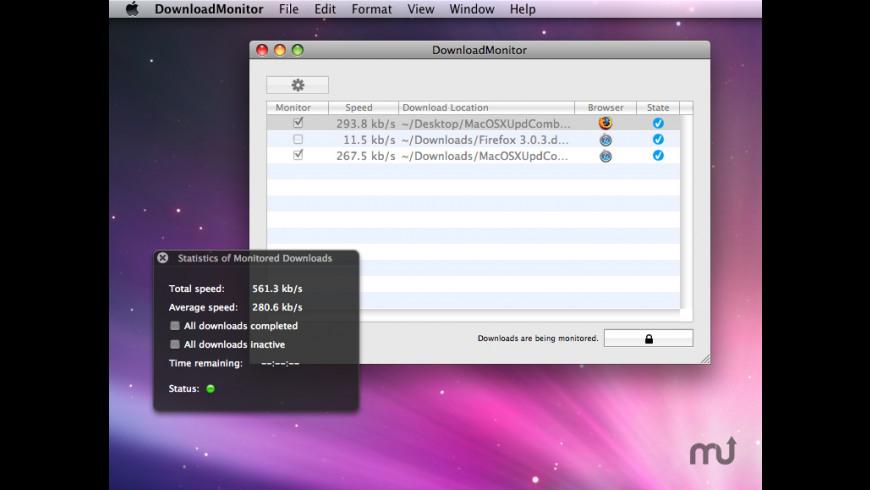 DownloadMonitor for Mac - review, screenshots