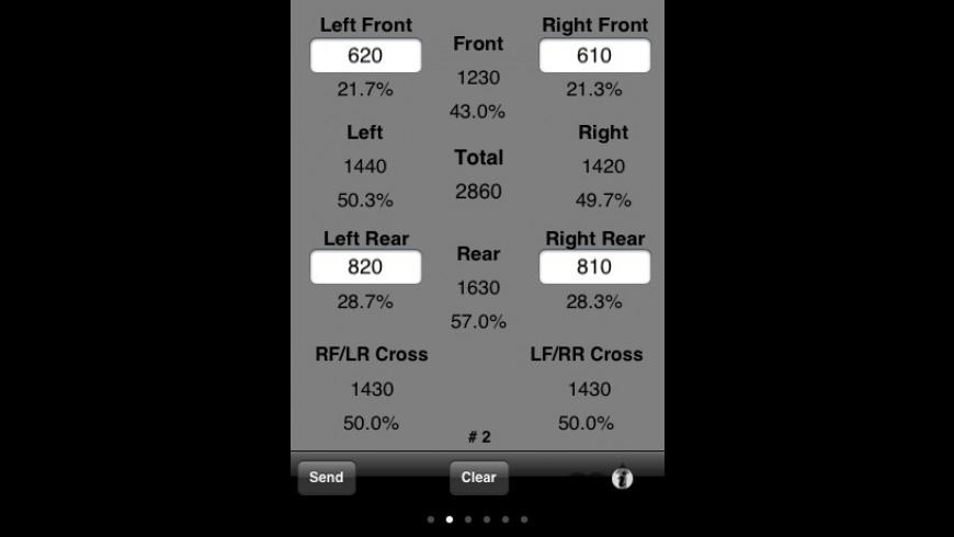 Cross Weight for Mac - review, screenshots