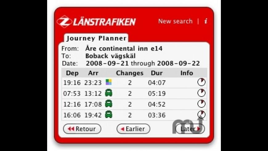 Länstrafiken Jämtland for Mac - review, screenshots