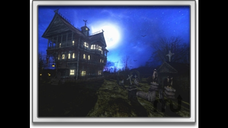 Spooky Mansion Screen Saver for Mac - review, screenshots
