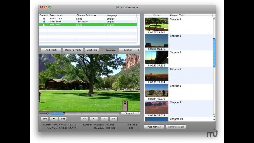 QTMarker for Mac - review, screenshots