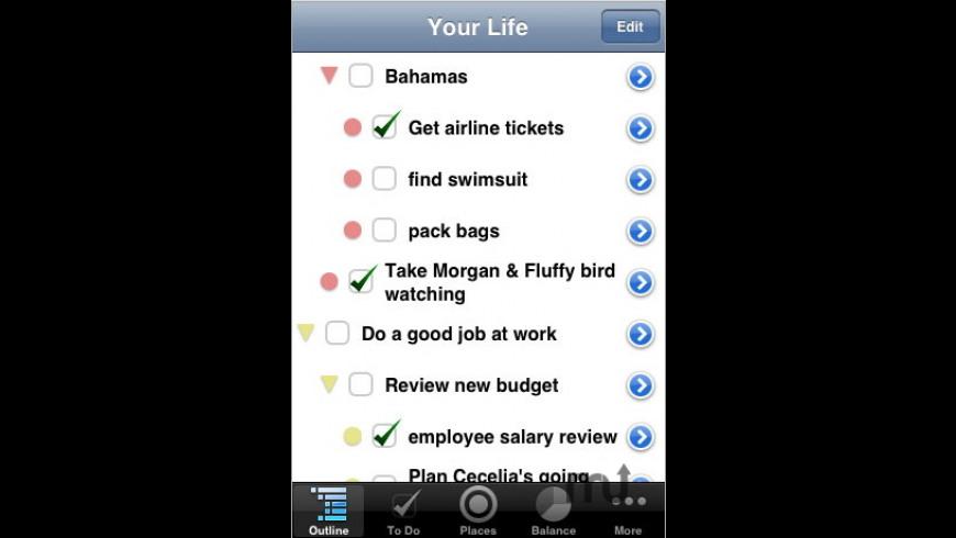 Life Balance for Mac - review, screenshots