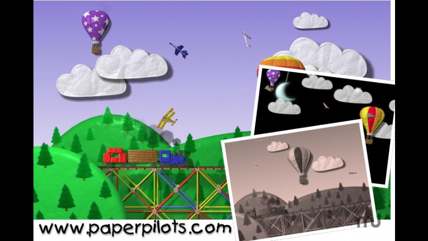 Paper Pilots Screensaver for Mac - review, screenshots