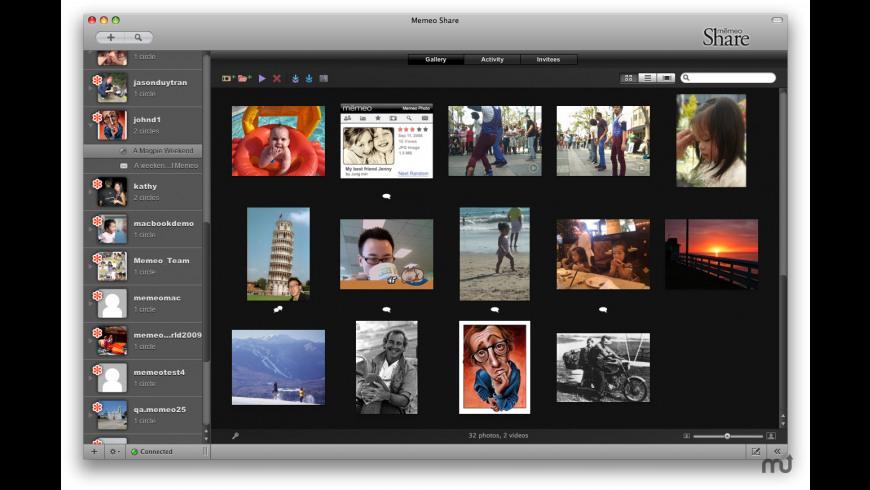 Memeo Share for Mac - review, screenshots