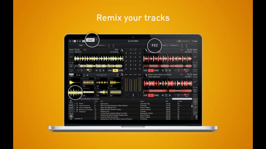 Cross DJ for Mac - review, screenshots