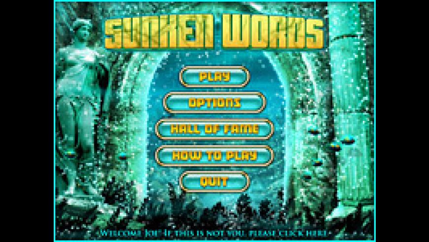 Sunken Words for Mac - review, screenshots