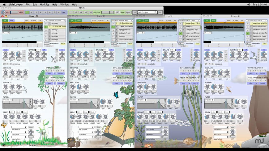 Livid Looper for Mac - review, screenshots