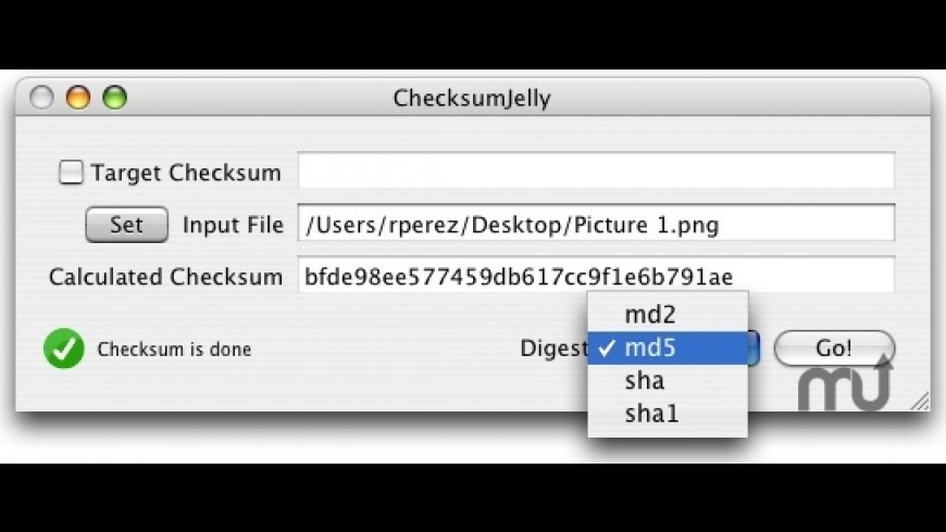 ChecksumJelly for Mac - review, screenshots
