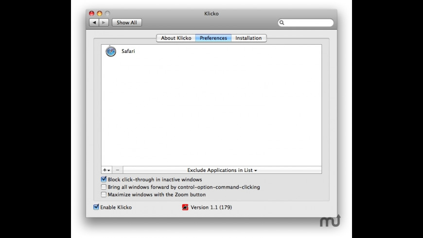 Klicko for Mac - review, screenshots