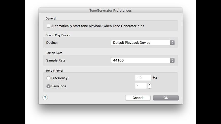 ToneGenerator 3 22 Free Download for Mac | MacUpdate