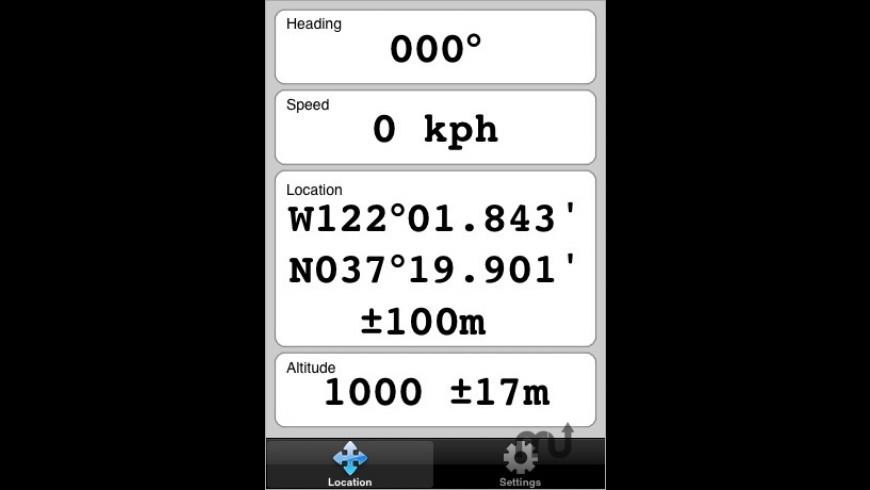 GPS for Mac - review, screenshots