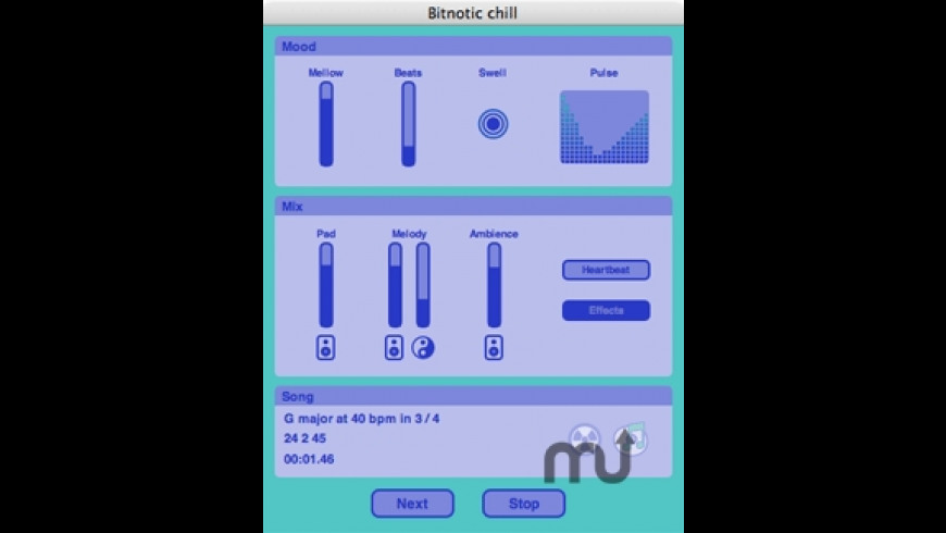 Bitnotic chill for Mac - review, screenshots
