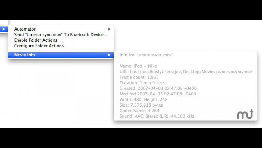 MovieInfoCM for Mac - review, screenshots