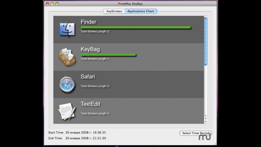 KeyBag for Mac - review, screenshots