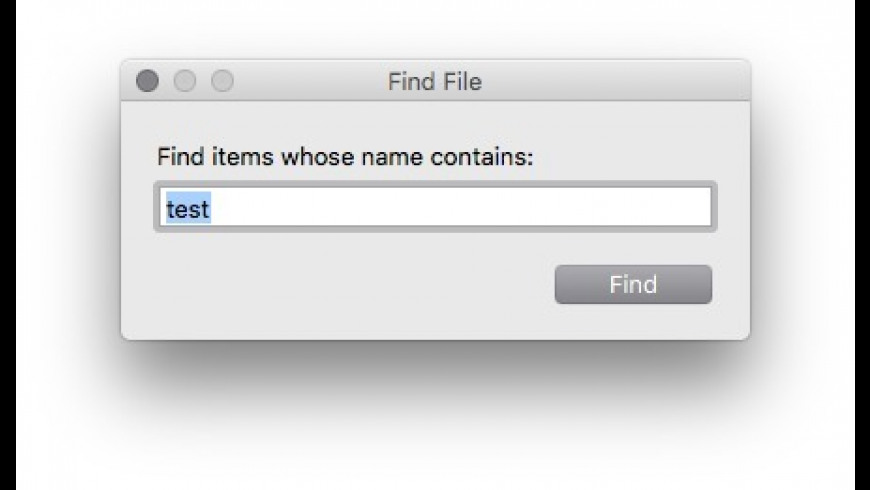 Find File for Mac - review, screenshots