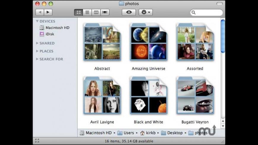 OSXP Folders QuickLook Plugin for Mac - review, screenshots