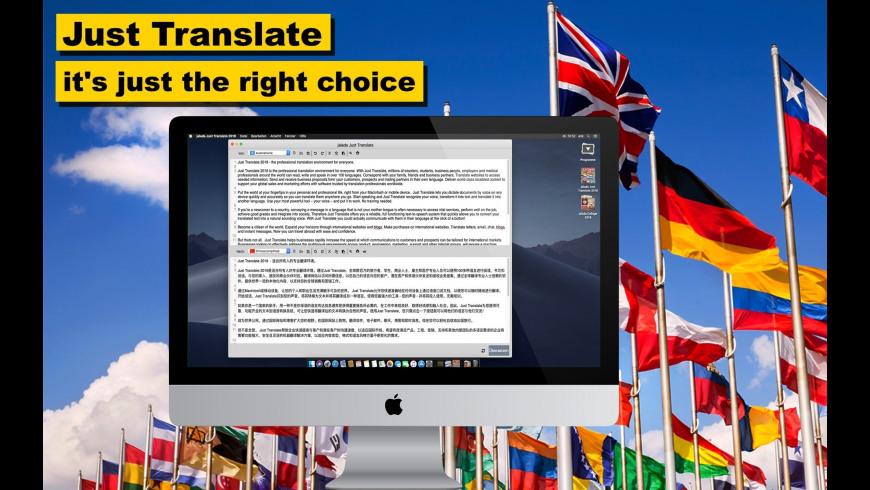 Just Translate for Mac - review, screenshots