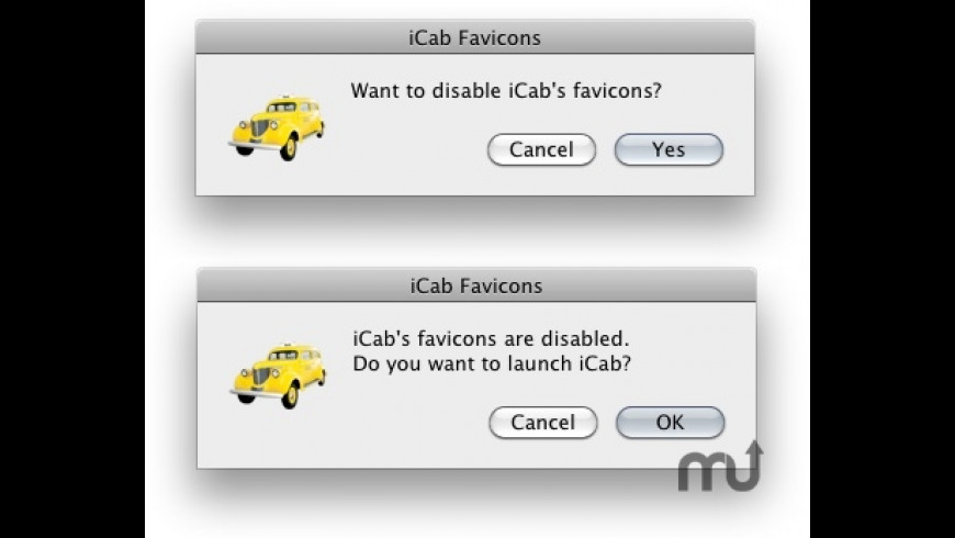 iCab Favicons for Mac - review, screenshots