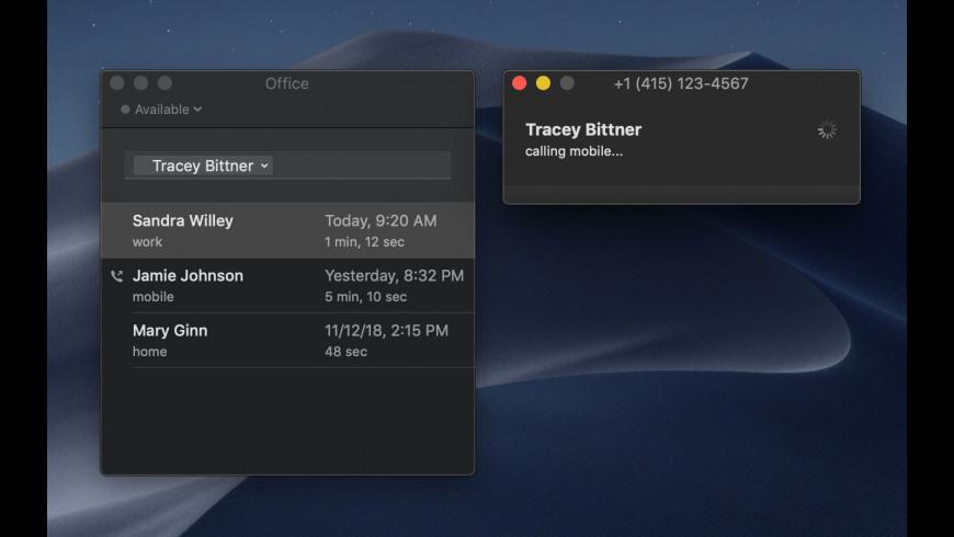 Telephone for Mac - review, screenshots