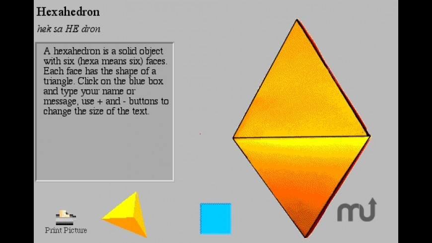 Solid Geometry for Mac - review, screenshots