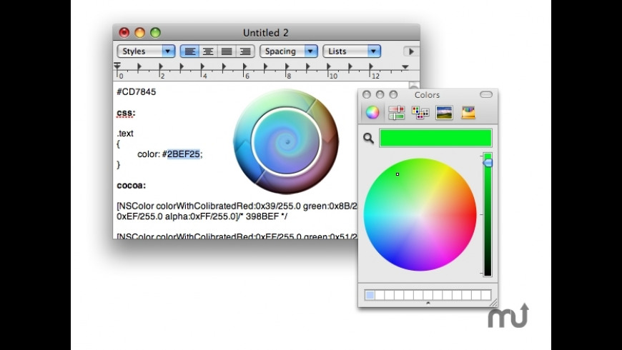 HexColor for Mac - review, screenshots
