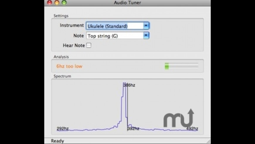 Audio Tuner for Mac - review, screenshots