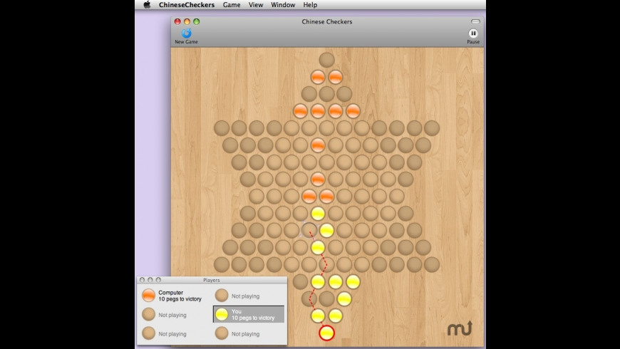 Chinese Checkers for Mac - review, screenshots