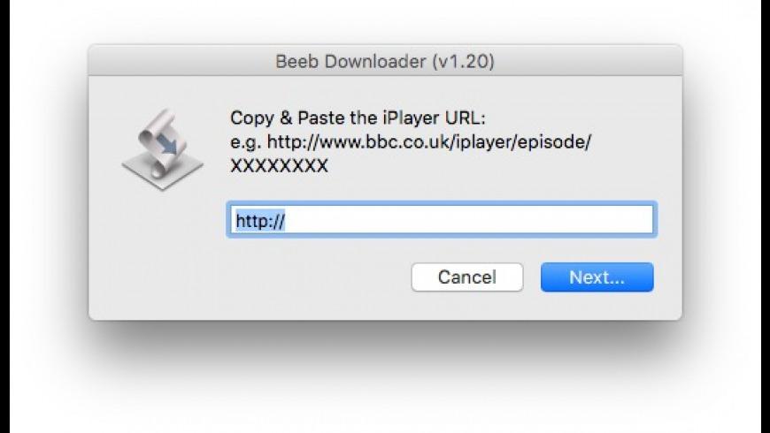 Beeb downloader for Mac - review, screenshots