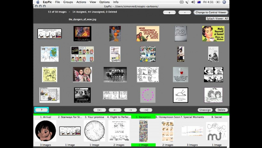 EzyPic Photo Organizer for Mac - review, screenshots