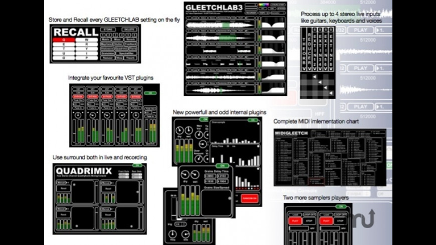 Gleetchlab for Mac - review, screenshots