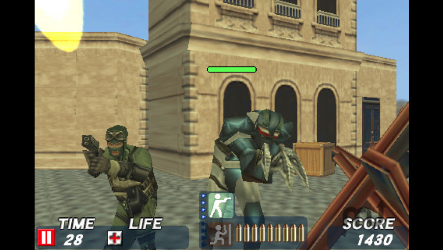 Time Crisis Strike for Mac - review, screenshots