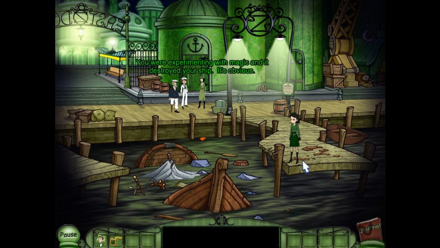 Emerald City Confidential for Mac - review, screenshots