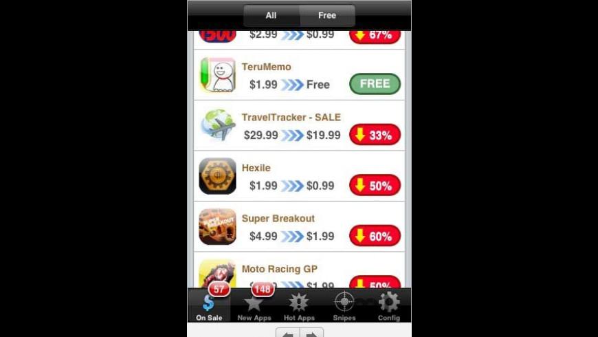 AppSniper Lite for Mac - review, screenshots