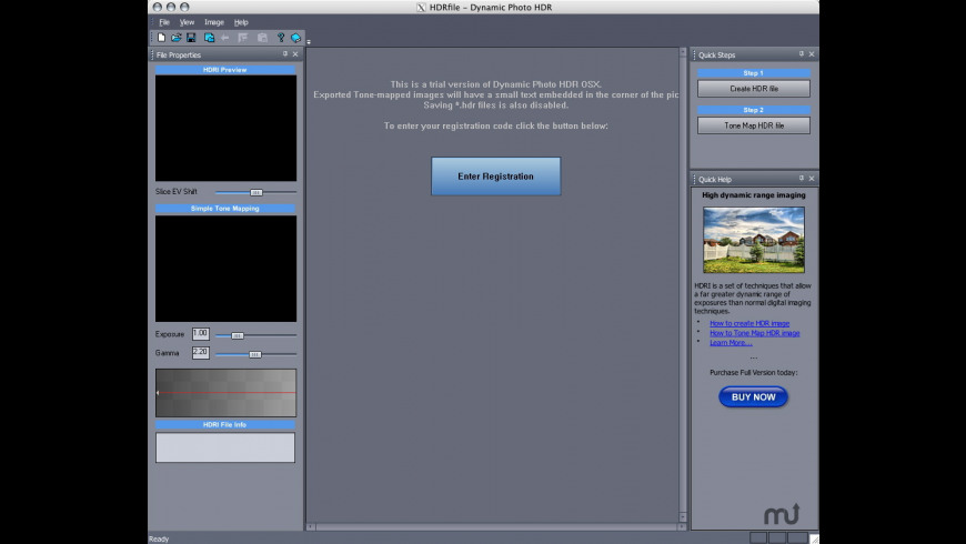 Dynamic Photo HDR for Mac - review, screenshots